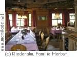 Leogang Gasthaus Riederalm