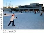 Linz AG Eislaufen Ebelsberg