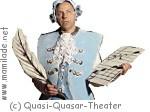 """Quasi-Quasar Theater im Frida&Fred: """"der kleine Mozart"""""""