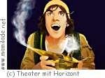 Theater mit  Horizont : Aladdin