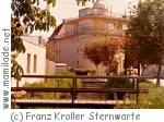 Franz Kroller Sternwarte Traiskirchen ü
