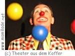"""Theater aus dem Koffer """"Michelino feier Fasching mit Musik"""""""