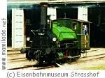 Eisenbahn Museum Strasshof grüne Dampflok ü