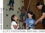 Kindergeburtstag in der K1 Kletterhalle Dornbirn