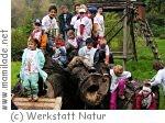 Kindergeburtstag in der Werkstatt Natur bei Marz