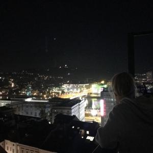 Herrliche Aussicht vom Turm der Stadtparrkirche