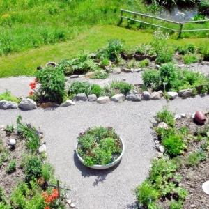 Alpenkräutergarten und Pfad der Sinne bei Riezlern