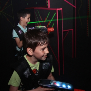 Lasertag in der Funworld Hard