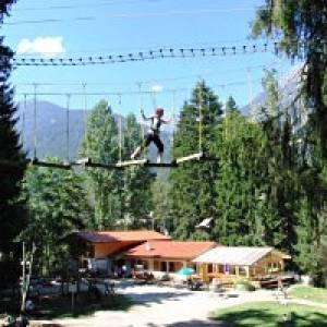 Adventure Park in Fulpmes im Stubaital