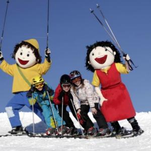 Skigebiet Falkert, Heidi und Peter stehen im Mittelpunkt
