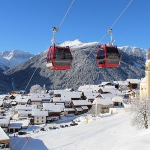 Skigebiet Golzentipp in Obertilliach