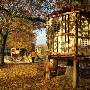 Piratenschiff am Spielplatz in Braunau