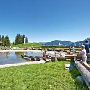 Filzalmsee in Brixen im Thale am Wilden Kaiser