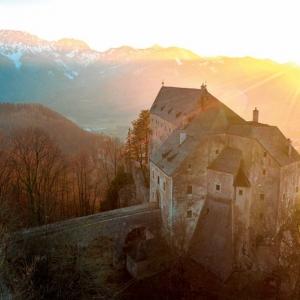 Wanderung zur Burg Altpernstein