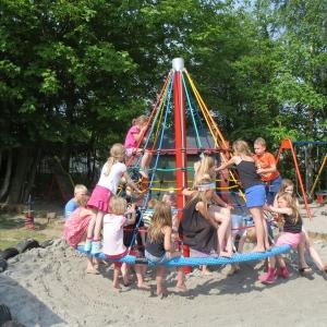 Symbolfoto Spielplatz am Dorfplatz in Neutal