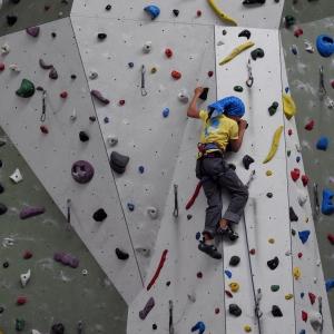 Symbolfoto Kletter und bouldern im Kletterzentrum Weinburg