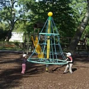 Sparefroh-Spielplatz im Donaupark