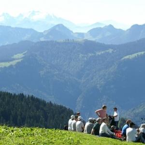 Der alpgeschichtliche Lehrweg in Andelsbuch