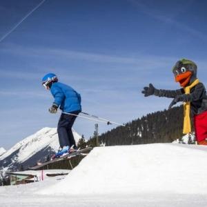 Skigebiet in Ehrwald mit der Ehrwalder Almbahn