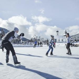 Eislaufen Seefeld