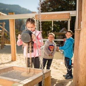 Goldgräberspielplatz im Freizeitpark Zell am Ziller
