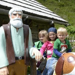 Heidi auf der Falkert-Alm in den Nockbergen