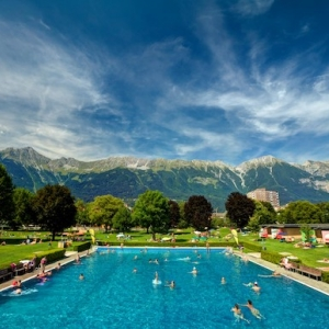 Freibad Tivoli in Innsbruck