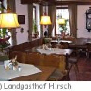 Gussenstadt Landgasthof Hirsch
