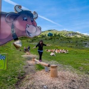 Zauchensee, KUHparKUHr »Kuh-Balanceakt«