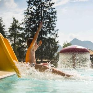 Erlebnis Waldschwimmbad Kössen