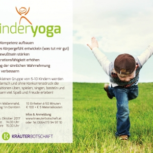 Kinderyoga in Dornbirn