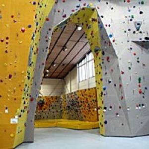 Kletterhalle Nordwandklettern Wolkersdorf