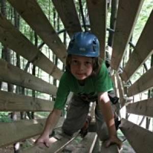 Kletterpark PurkersdorfKlettervergnügen auf unterschiedlichen Parcours