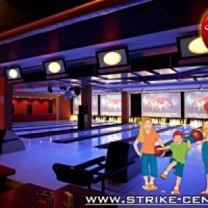 Bowling für Familien im Strike Center in Lauterach