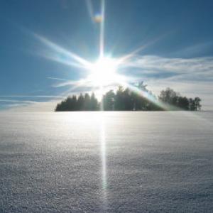 Winterwanderung in Liebenau