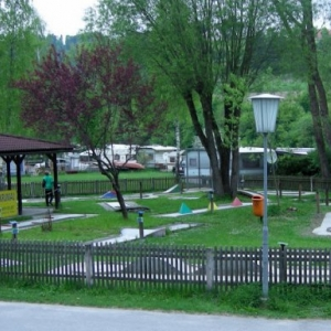Miniaturgolfplatz am Kampsee