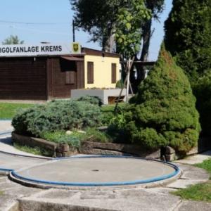 Minigolf im Bahnengolfclub Krems-Wachau