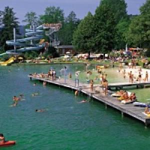 Mondsee Strandbad Alpenseebad