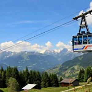 Kristbergbahn Silbertal im Montafon