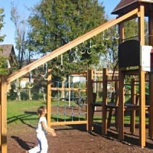 Kinderspielplatz in Obertrum