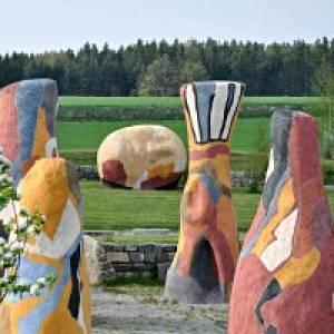 Der Park des Staunens beim Kunstmuseum Waldviertel