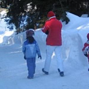Winterwanderung Postalm
