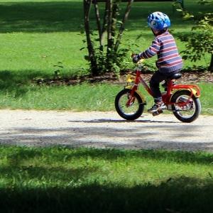 Symbolfoto Radfahren
