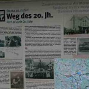 Weg des 20. Jahrhunderts in Reingers