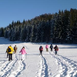 Nationalpark Kalkalpen: Schneeschuh-Wanderung