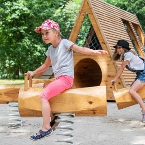 Linz: Kinderspielplatz in der Marktmühlgasse