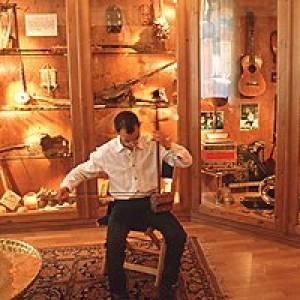Musikinstrumentemuseum in St. Gilgen