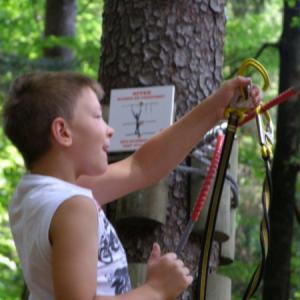 Waldseilpark Tscheppaschlucht
