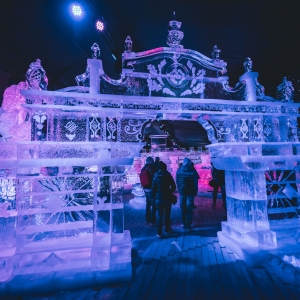 Ice Magic Linz – Eisskulpturen Ausstellung