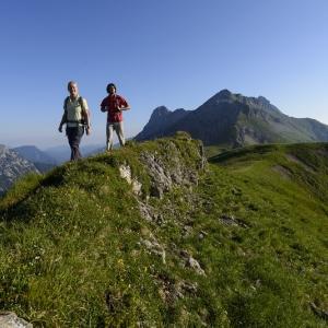 Hinterriss/Eng: Wanderung auf die Binsalm im Karwendel